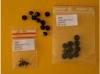 Glasaugen, schwarz 3 mm